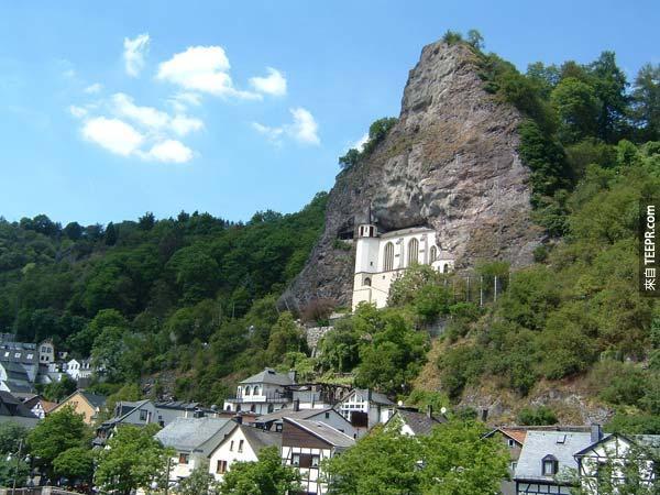 30.  石頭教堂 The Felsenkirche a.k.a. Church of the Rock (伊達爾 - 奧伯施泰因,德國)