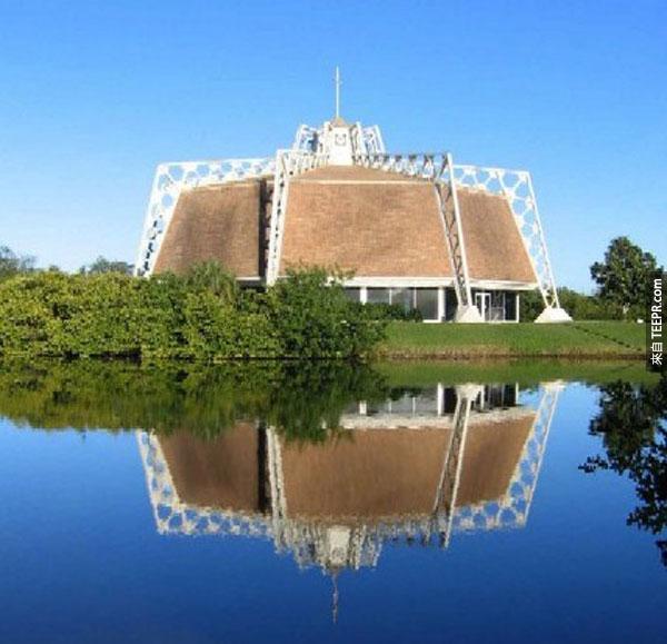 39. 該佈線工禮拜堂 The Wireman Chapel at Eckerd College (聖彼得堡,佛羅里達州,美國)