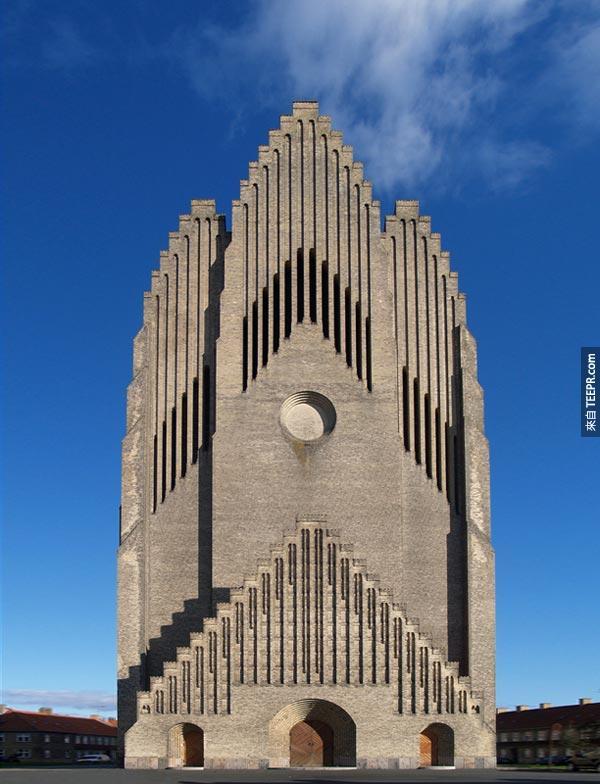28. 管風琴的教堂 Grundtvig's Church (哥本哈根,丹麥)