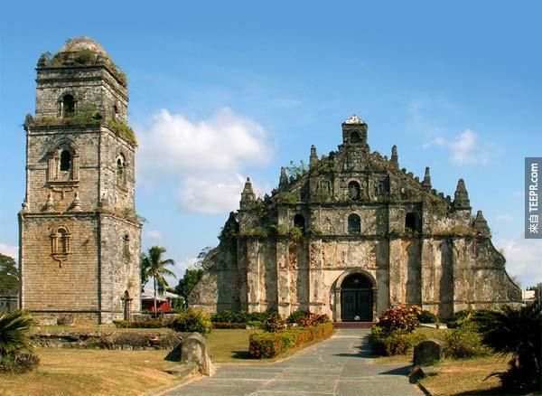 20. 抱威教堂/聖奧斯定堂 Paoay Church a.k.a St. Augustine Parish (菲律賓)