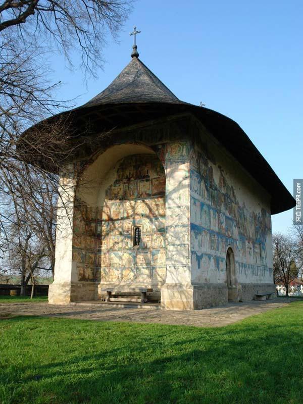44. Church of Arbore (蘇恰瓦縣,羅馬尼亞)
