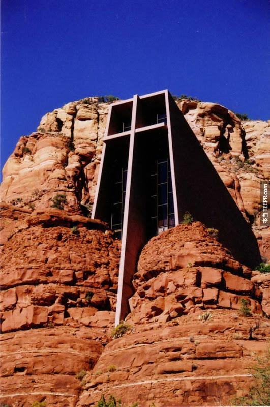 38. 教堂的岩石 Chapel in the Rock (亞利桑那州,美國)