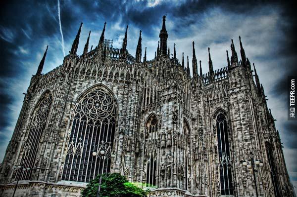 19. 米蘭大教堂 Duomo, Milan Cathedral (米蘭,意大利)