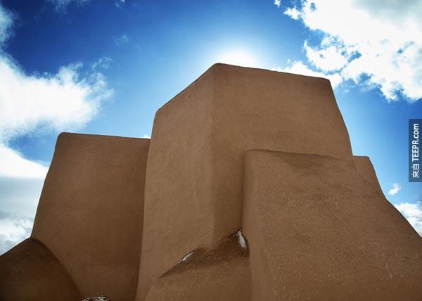 24. 聖弗朗西斯科阿齊茲堂 San Francisco de Asis Church (蘭喬斯德陶斯,新墨西哥州)