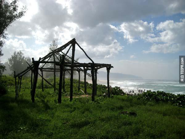 27. Eko的教堂 Mr. Eko's Church (The Island, 靠近海灘露營)
