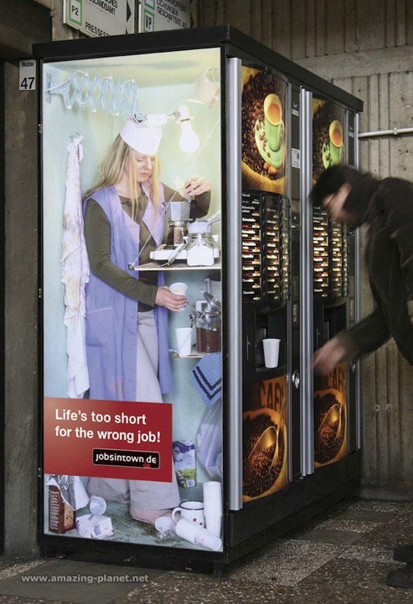 廣告公司用「超震撼人心創意」告訴你...人生絕不能做「自己不愛的工作」!