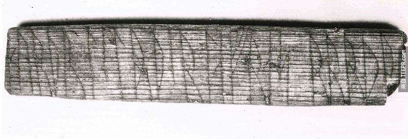 900年前的維京符文終於被解開了!上面的文字真的太浪漫了!