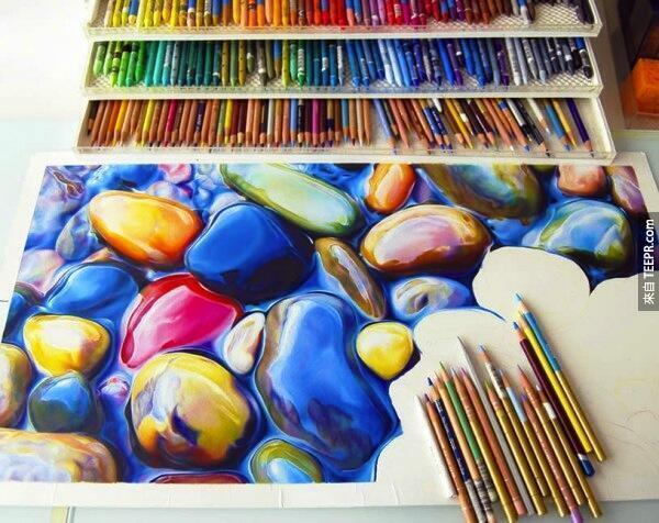 10. 彩色鉛筆