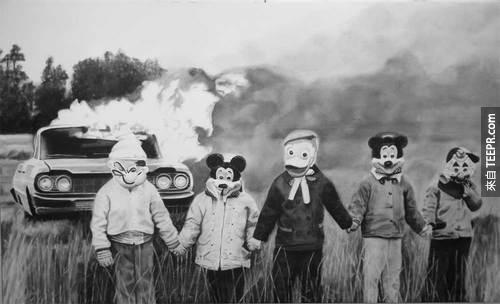恐怖的古代照片