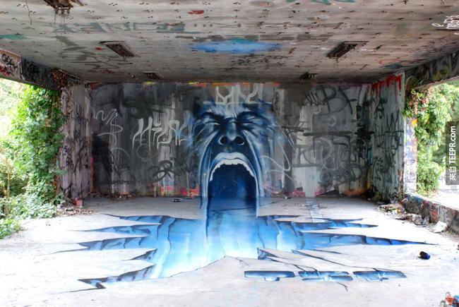 15. 被遺棄的房子跟橋底下的藝術。