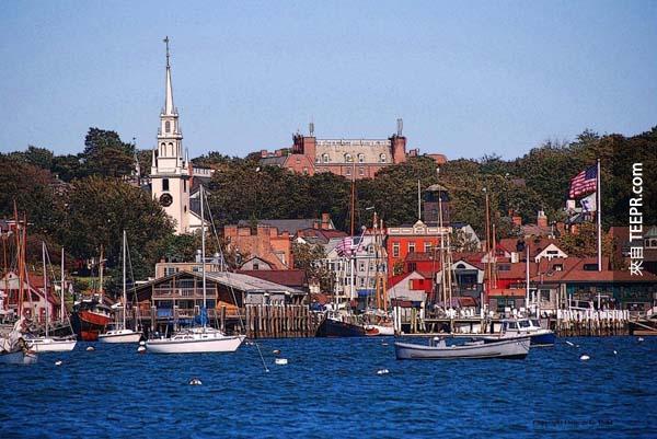 6.) 羅德島,紐波特 (Newport, Rhode Island)
