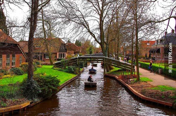 10.) 荷蘭,羊角村 (Giethoorn, Netherlands)