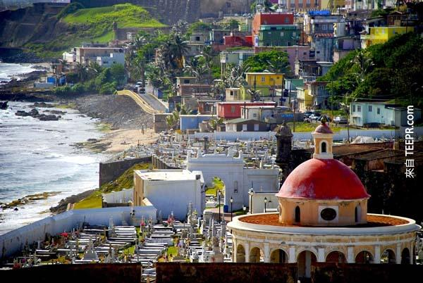 14.) 波多黎各,舊聖胡安(Old San Juan, Puerto Rico)