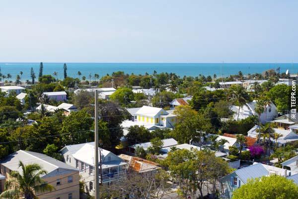 15.) 佛羅里達州,基韋斯特 (Key West, Florida)