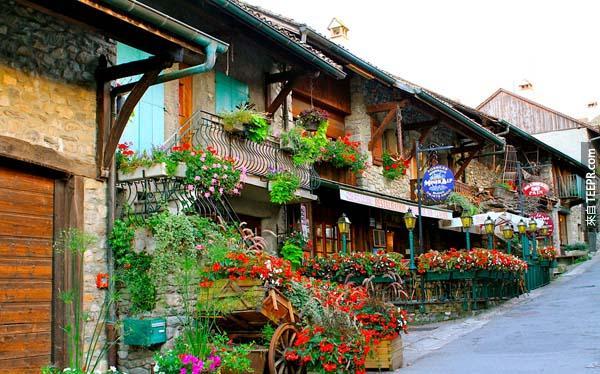 17.) 法國,伊瓦爾(Yvoire, France)