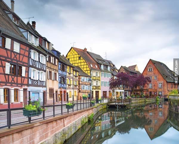 3.) 科爾瑪,法國 (Colmar, France)