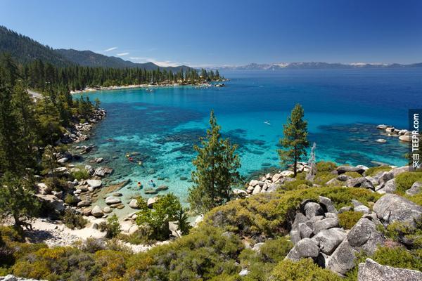 18.)太浩湖(加州和內華達州)