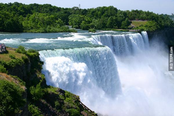 20)尼亞加拉瀑布(紐約)