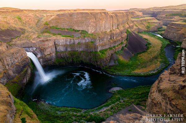 26)帕盧斯瀑布(華盛頓)