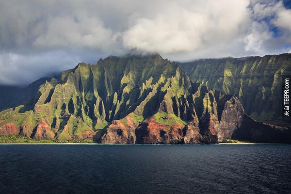 28)。娜八里海岸國家公園(夏威夷州)