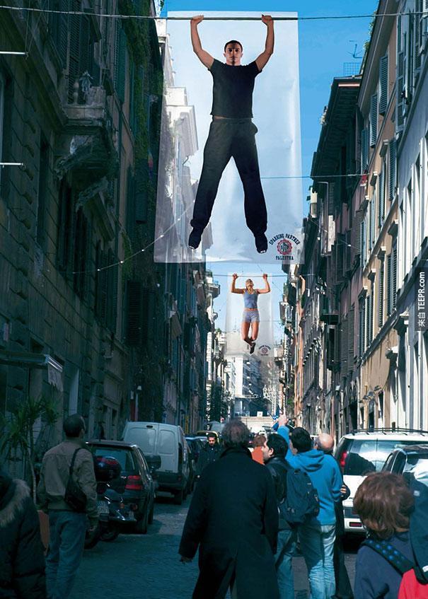 運動夥伴健身房 Sparring Partner Gym: Hanging 吊掛的男人
