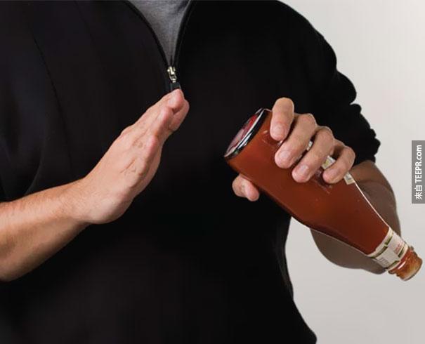 Dressing for Pleasure (SM內衣品牌): 番茄醬瓶子