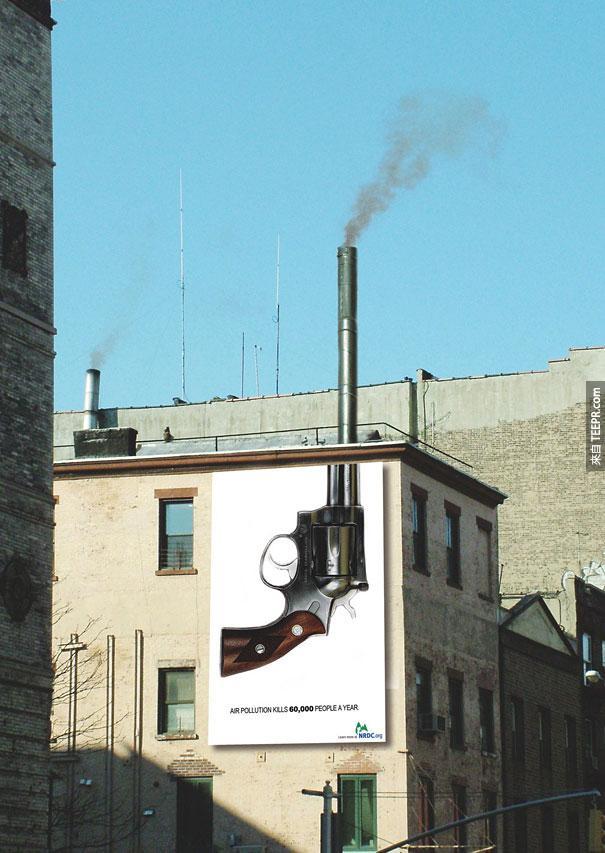 NRDC.org: 空氣污染一年會殺死60,000個人。