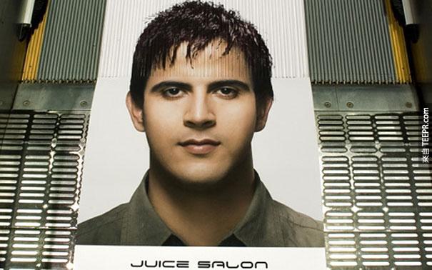 果汁沙龍 Juice Salon: 手扶梯變化髮型