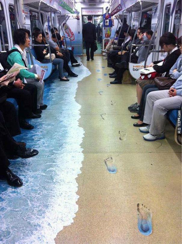 韓國地鐵廣告
