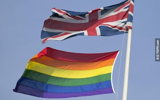 Across the country, rainbow flags flew to mark the occasion.