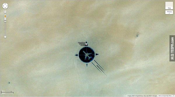 24.) UTA 772班機沙漠裡的紀念碑 (16.864841, 11.953808) 撒哈拉大沙漠,Ténéré 的尼日爾南部