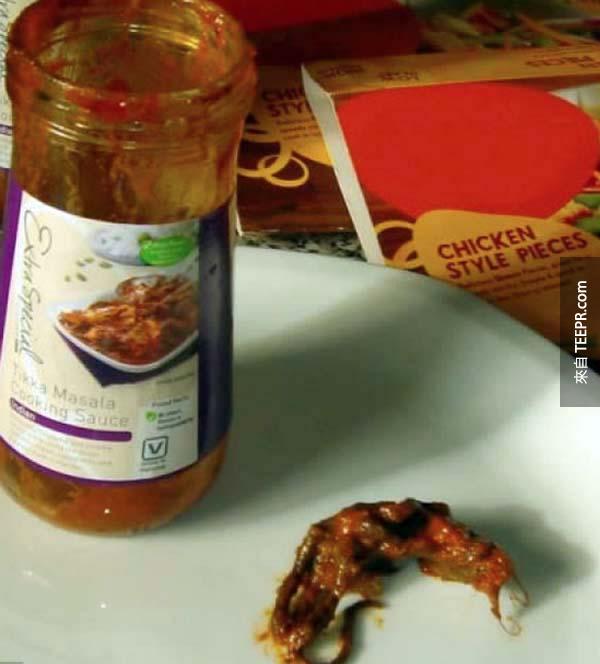 15個在食物裡找到最噁心的東西。我快要吐了...