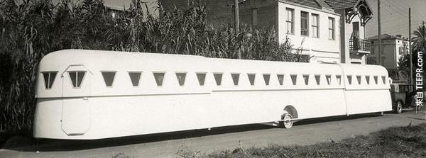 14.) 可延長的移動房屋。