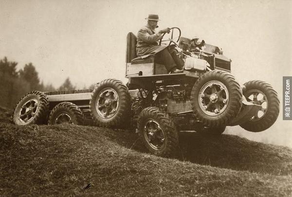 6.) 全地形汽車