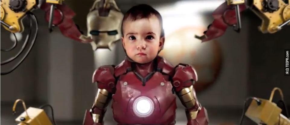 真希望這就是下一部鋼鐵人電影。你一定會感同身受!
