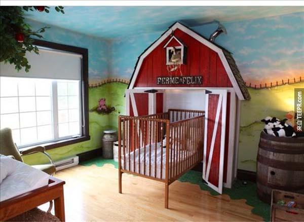 這32間兒童房間會讓你內心的小朋友嫉妒到不行。這些小朋友太幸福了!