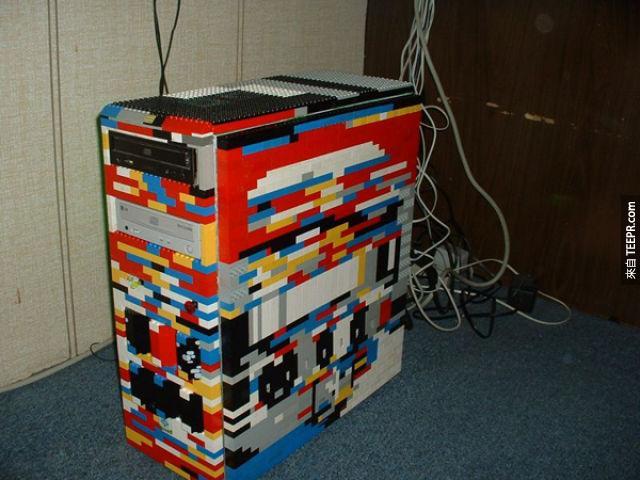 五顏六色的客製電腦機殼。