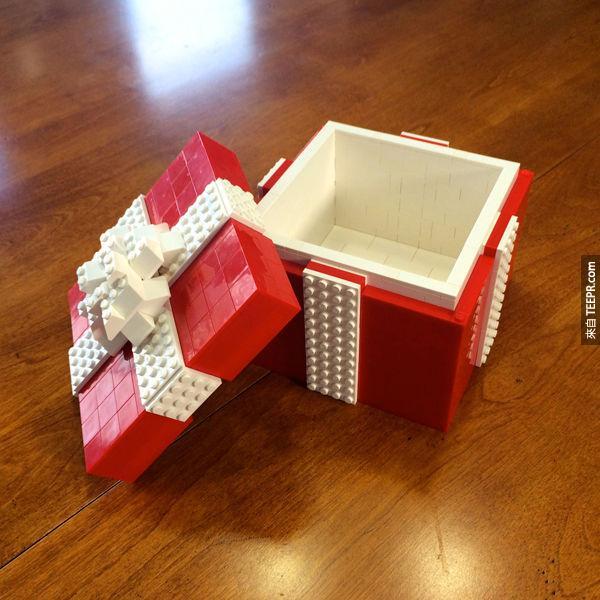 16. 讓你求婚時必成功的的戒指盒。