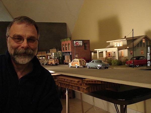 一名60歲男子花了多年拍攝這座小鎮,全因為這個小鎮背後有一個驚奇的真相。