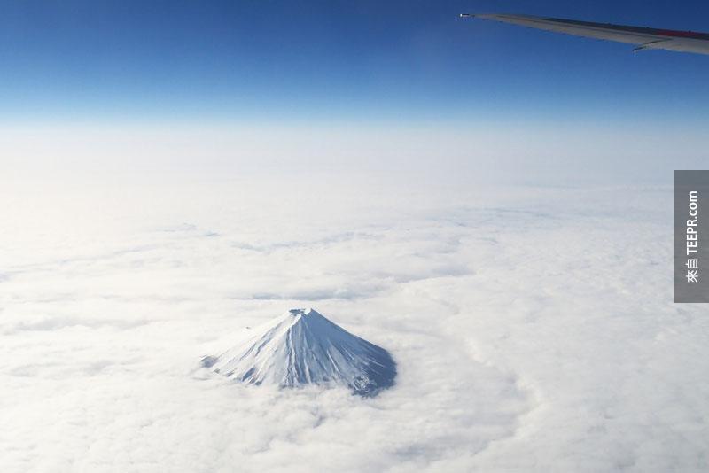 21. 富士山。太酷了吧?