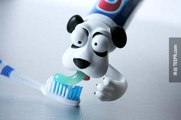 12.) 鼓勵孩子刷牙的好方法!