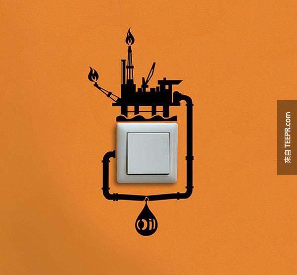 17.) 鼓勵他們要記得把燈關掉。