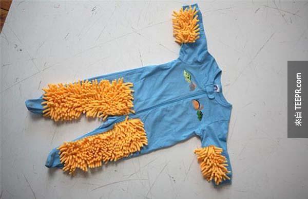 2.) 讓你的孩子幫你做家事。