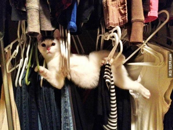 我...我只是想要幫你挑衣服阿!