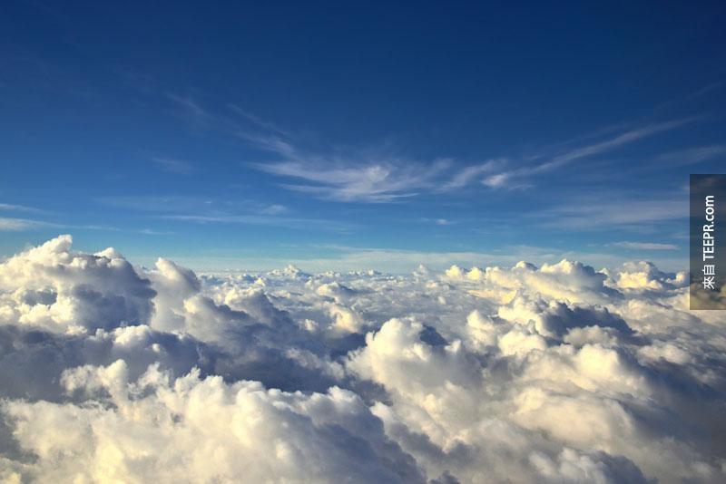 27個為什麼你在飛機上應該坐靠窗戶座位的原因。#7也太不真實了吧?