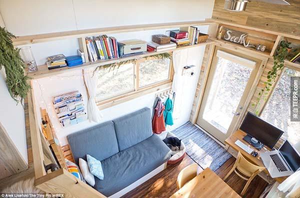 而且裡面空間超舒適大方。