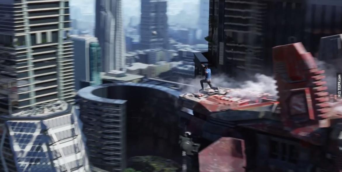 星際爭霸戰裡的戰鬥場景真的很精采。