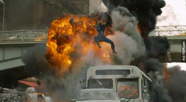 很多復仇者聯盟裡的場景根本不是在都市裡拍攝的。