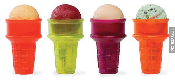 2.) 馬達旋轉冰淇淋筒。這樣愛吃冰淇淋但是又很懶得人就不用像一個呆瓜一要一直轉冰淇淋筒。