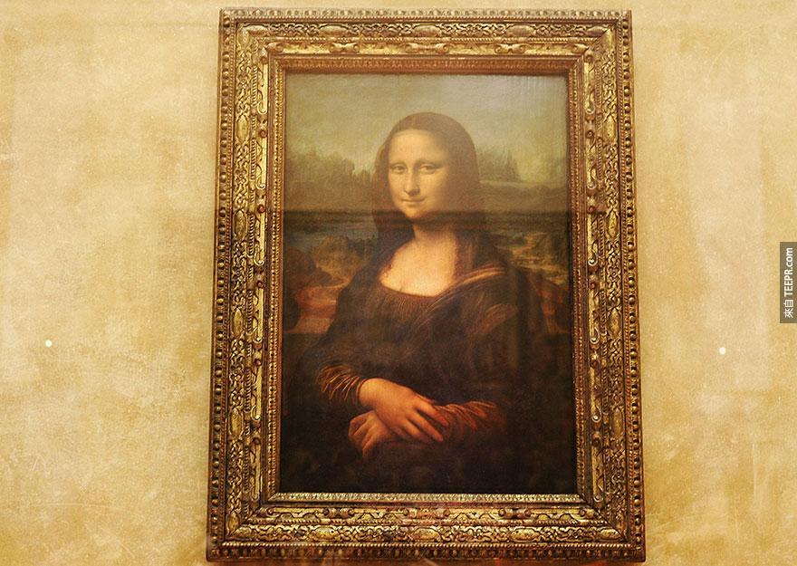 12. 蒙娜麗莎 (Mona Lisa)